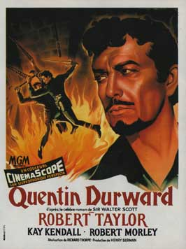 The Adventures of Quentin Durward - 11 x 17 Movie Poster - French Style A