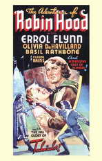 The Adventures of Robin Hood - 11 x 17 Movie Poster - Style B