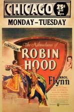 The Adventures of Robin Hood - 11 x 17 Movie Poster - Style D
