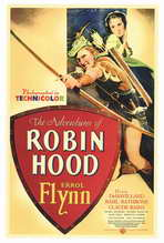 The Adventures of Robin Hood - 27 x 40 Movie Poster - Style A