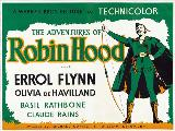The Adventures of Robin Hood - 30 x 40 Movie Poster UK - Style A
