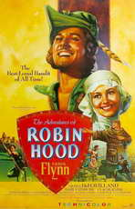 The Adventures of Robin Hood - 11 x 17 Movie Poster - Style P