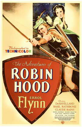The Adventures of Robin Hood - 11 x 17 Movie Poster - Style A