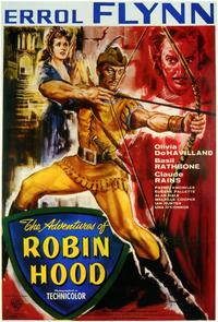 The Adventures of Robin Hood - 11 x 17 Poster - Foreign - Style A