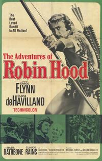 The Adventures of Robin Hood - 11 x 17 Movie Poster - Spanish Style B