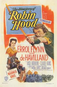 The Adventures of Robin Hood - 11 x 17 Movie Poster - Style E