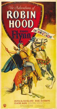 The Adventures of Robin Hood - 11 x 17 Movie Poster - Style F