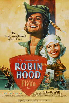 The Adventures of Robin Hood - 11 x 17 Movie Poster - Style G