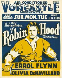 The Adventures of Robin Hood - 11 x 17 Movie Poster - Style I