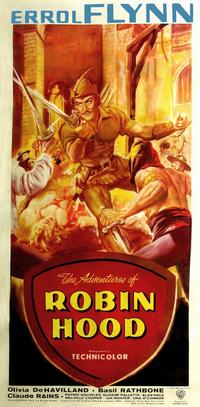 The Adventures of Robin Hood - 11 x 17 Movie Poster - Style J
