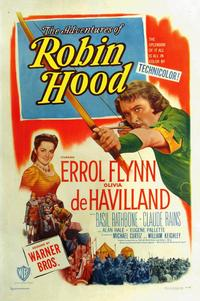 The Adventures of Robin Hood - 11 x 17 Movie Poster - Style L