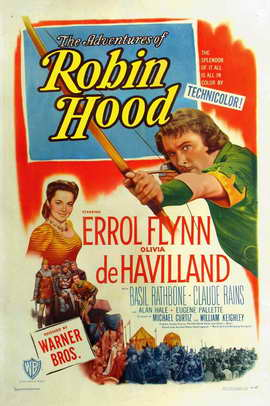 The Adventures of Robin Hood - 27 x 40 Movie Poster - Style C