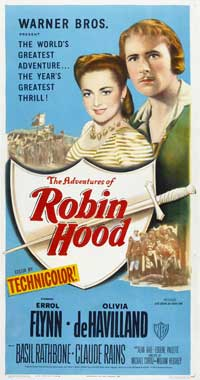 The Adventures of Robin Hood - 20 x 40 Movie Poster - Style A