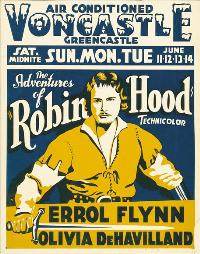 The Adventures of Robin Hood - 27 x 40 Movie Poster - Style D