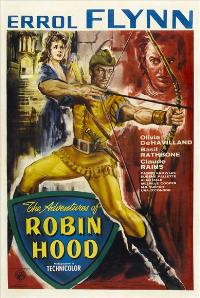 The Adventures of Robin Hood - 27 x 40 Movie Poster - UK Style A