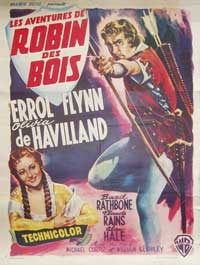 The Adventures of Robin Hood - 11 x 17 Movie Poster - Belgian Style B