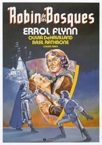 The Adventures of Robin Hood - 27 x 40 Movie Poster - Spanish Style D