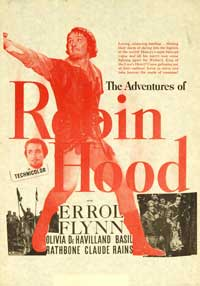 The Adventures of Robin Hood - 27 x 40 Movie Poster - Style G