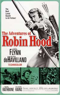 The Adventures of Robin Hood - 27 x 40 Movie Poster - Style J