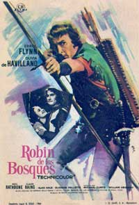The Adventures of Robin Hood - 11 x 17 Movie Poster - Spanish Style E