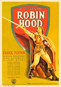 The Adventures of Robin Hood - 11 x 17 Movie Poster - French Style A