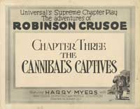 The Adventures of Robinson Crusoe - 27 x 40 Movie Poster - Style A