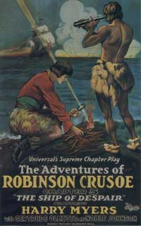 The Adventures of Robinson Crusoe - 11 x 17 Movie Poster - Style C