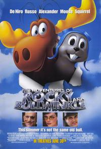 The Adventures of Rocky & Bullwinkle - 11 x 17 Movie Poster - Style B