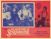 The Adventures of Scaramouche - 11 x 14 Movie Poster - Style B