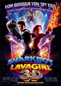 The Adventures of Sharkboy and Lavagirl 3-D - 27 x 40 Movie Poster - German Style A
