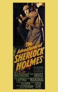 The Adventures of Sherlock Holmes - 11 x 17 Movie Poster - Style A