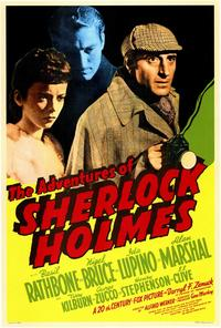 The Adventures of Sherlock Holmes - 27 x 40 Movie Poster - Style B