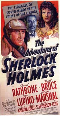The Adventures of Sherlock Holmes - 11 x 17 Movie Poster - Style C