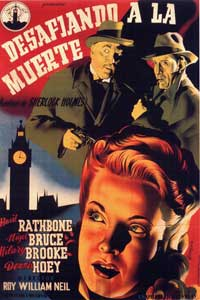 The Adventures of Sherlock Holmes - 11 x 17 Movie Poster - German Style A