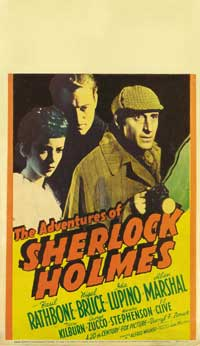 The Adventures of Sherlock Holmes - 14 x 22 Movie Poster - Window Card
