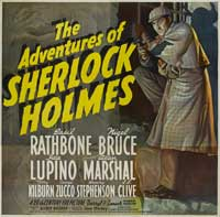 The Adventures of Sherlock Holmes - 40 x 40 - Movie Poster - Style A