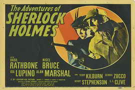 The Adventures of Sherlock Holmes - 11 x 17 Movie Poster - Style D