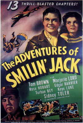 The Adventures of Smilin Jack - 27 x 40 Movie Poster - Style A