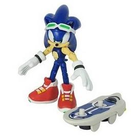 The Adventures of Sonic the Hedgehog - Sonic Free Riders Action Figure
