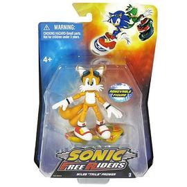 The Adventures of Sonic the Hedgehog - Sonic Free Riders Tails Action Figure