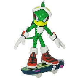 The Adventures of Sonic the Hedgehog - Sonic Free Riders Jet Action Figure