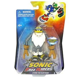 The Adventures of Sonic the Hedgehog - Sonic Free Riders Storm Action Figure
