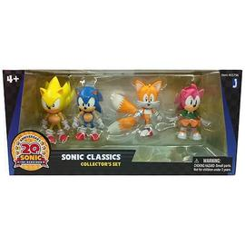 The Adventures of Sonic the Hedgehog - 20th Anniversary Classic Figure 4-Pack