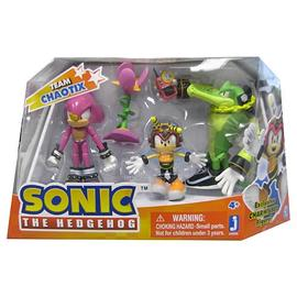 The Adventures of Sonic the Hedgehog - Team Chaotix Action Figure 3-Pack