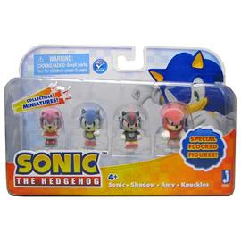 The Adventures of Sonic the Hedgehog - 1-Inch Flocked Mini-Figures 4-Pack