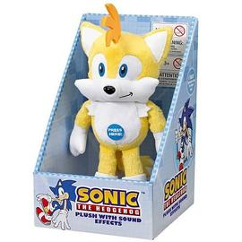 The Adventures of Sonic the Hedgehog - Tails Medium Plush with Sound