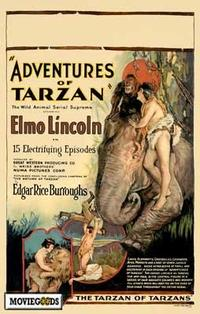 The Adventures of Tarzan - 43 x 62 Movie Poster - Bus Shelter Style A