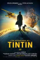 The Adventures of Tintin: The Secret of the Unicorn - 27 x 40 Movie Poster - UK Style A