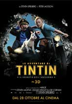 The Adventures of Tintin: The Secret of the Unicorn - 11 x 17 Movie Poster - Italian Style A