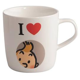 The Adventures of Tintin: The Secret of the Unicorn - I Love Tintin White Mug